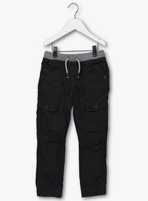 Charcoal Grey Cargo Trousers (9 months-6 years)