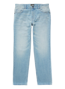 Extra Light Wash Straight Jeans