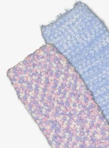Multicoloured Cosy Socks 2 Pack