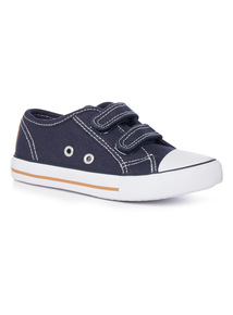 Velcro Strap Canvas Shoes