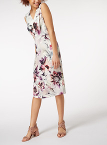 Online Exclusive Floral Print Shift Dress