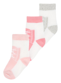 Baseball Socks 3 Pack (1-24 months)
