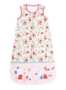Girls Multicoloured Floral Sleeping Bag