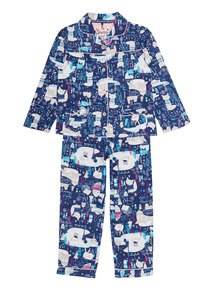 Navy Arctic Pyjama Set (1-12 years)