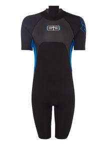 Mens Blue Short Wetsuit