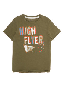 Khaki High Flyer Tee (9 months- 6 years)
