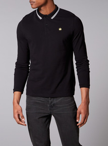 Admiral Black Tipped Polo
