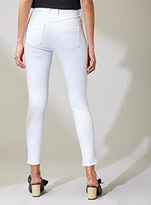 Premium White Skinny Jeans
