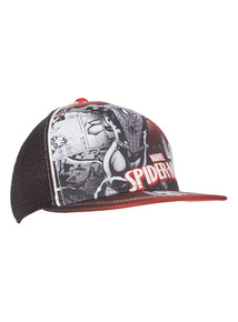 Black Spider-Man Cap (3 - 12 years)