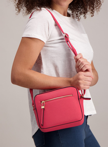 Pink Shoulder Handbag