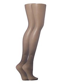 Nearly Black Light Support Tights 2 Pack