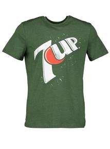 7 Up Green Crew Neck T-Shirt
