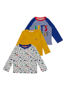Let's Play Tees 3 Pack (0-24 months)
