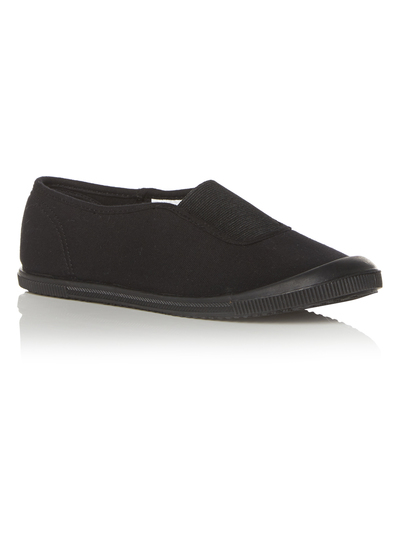 Unisex Slip On Plimsoll (5 Infant - 3 Years)