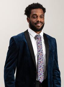 Multicoloured Floral Print Tie