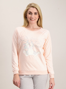 Disney Thumper Pink Velour Pyjama Top