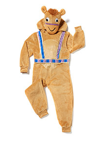 Multicoloured Christmas Camel Costume (3-10 years)