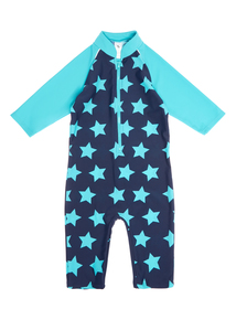 Boys Multicoloured Star Print Sunsafe Suit (1.5 - 5 years)
