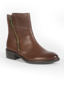 Premium Brown Chunk Boots