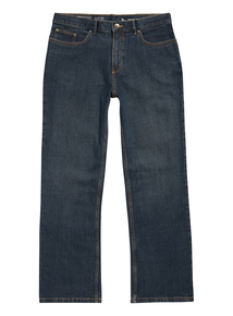 Mid Wash Bootcut Stretch Denim Jeans