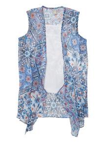Blue Marrakesh Waistcoat (3-12 years)