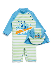 Multicoloured Surfs Up Sunsafe Set (0-36 months)