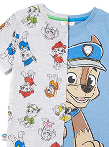 2 Pack Multicoloured Paw Patrol T-Shirts (9 months-6 years)