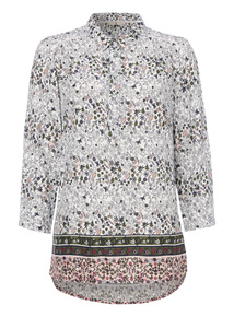 Multicoloured Floral Blouse