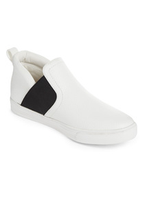 Online Exclusive White Slip On Trainers