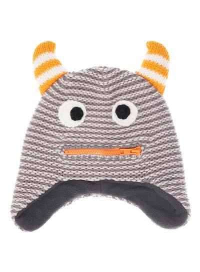Multicoloured Novelty Monster Hat (1-6 years)