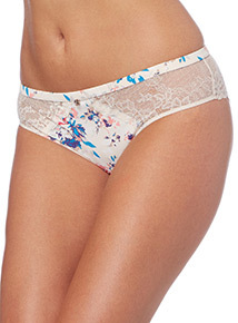 Gok Floral Lace Brazilian Briefs