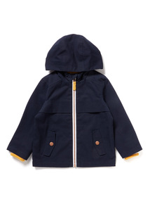 Navy Cotton Jacket (9 months-6 years)