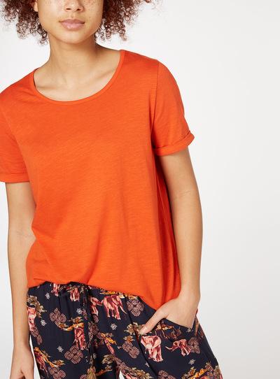 Twist Sleeve T-shirt