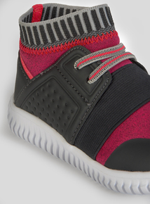 Sock Pull On Trainers (10 Infant-4 Child)