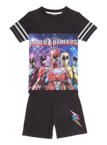 Black Power Rangers PJ Set (5 - 12 years)
