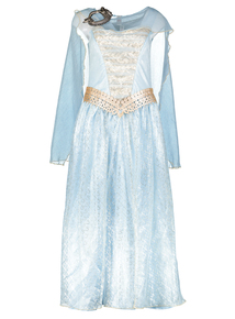 Blue Storm Warrior Princess Halloween Outfit (Size 8- 22)