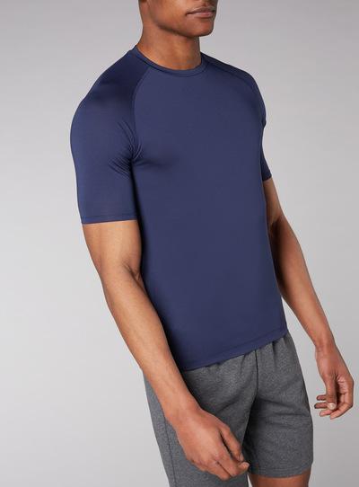Admiral Indigo Airtex T-Shirt