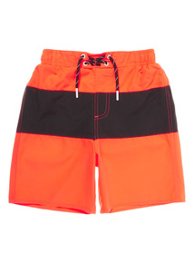 Boys Orange Swim Shorts (1 - 14 years)