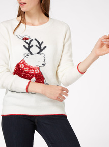 Festive Polar Bear Jumper
