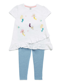 Multicoloured T-Shirt and Leggings Set (9 months-6 years)