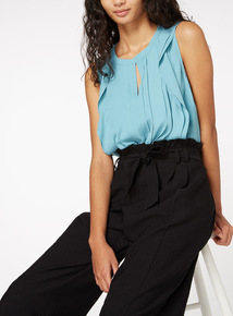 Frill Shell Top