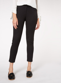Black Tapered Trousers
