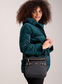 Black Classic Cross Body Handbag