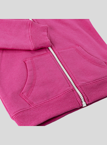 Pink Zip Through Hoody (9 months- 6 years)
