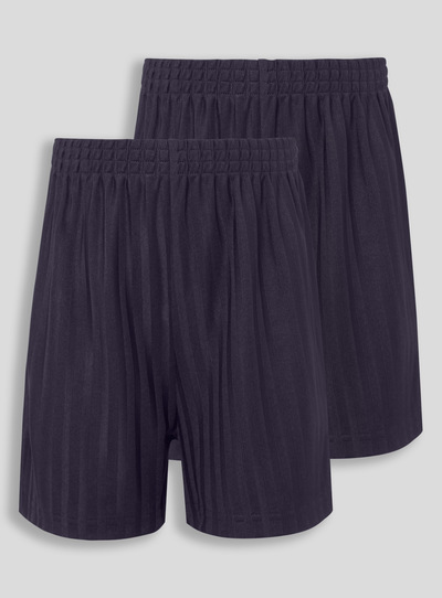 Navy Football Shorts 2 Pack ( 3 -16 years)