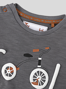 Grey Cool Trike T-Shirt (0-24 months)
