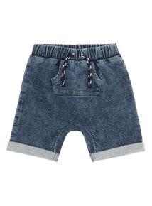 Boys Denim Loopback Shorts (0-24 months)