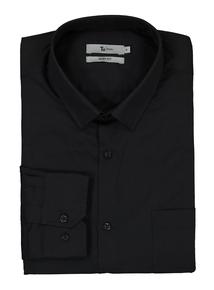 Black Slim Fit Shirts 2 Pack