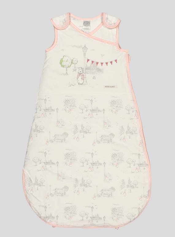 half off d1401 b4ac4 SKU:PH1 PETER RABBIT GIRLS SLEEPING BAG:White