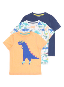 Boys Roar Tees 3 Pack (9 months - 6 years)